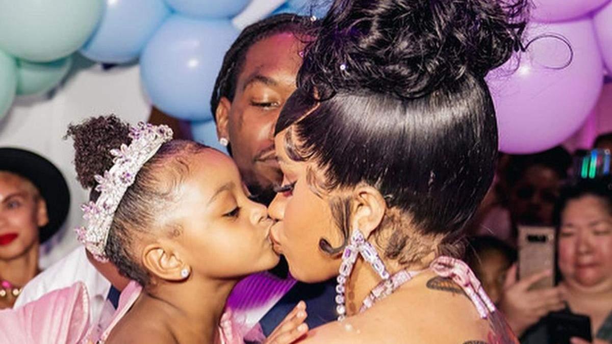 Cardi B влаштувала вечірку в стилі Disney для 3-річної доньки: фото