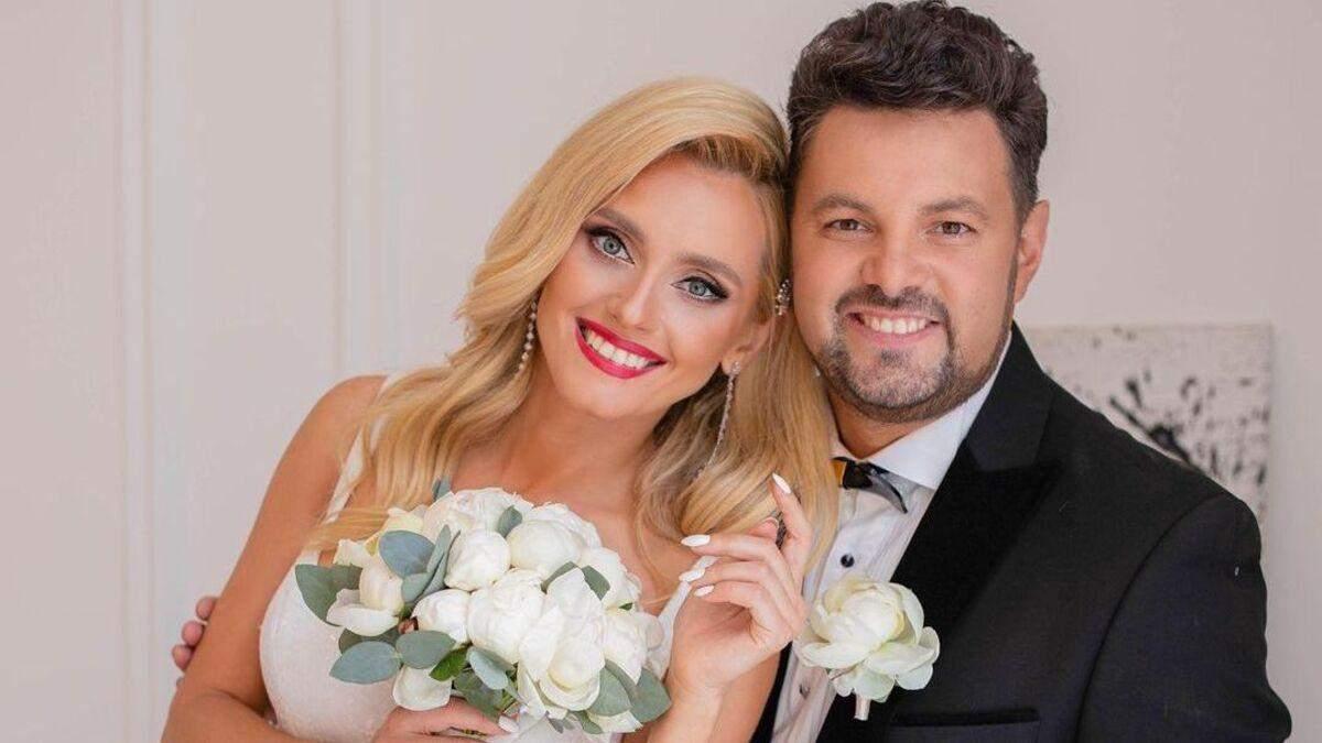 Ірина Федишин чуттєво привітала чоловіка з 15 річницею шлюбу