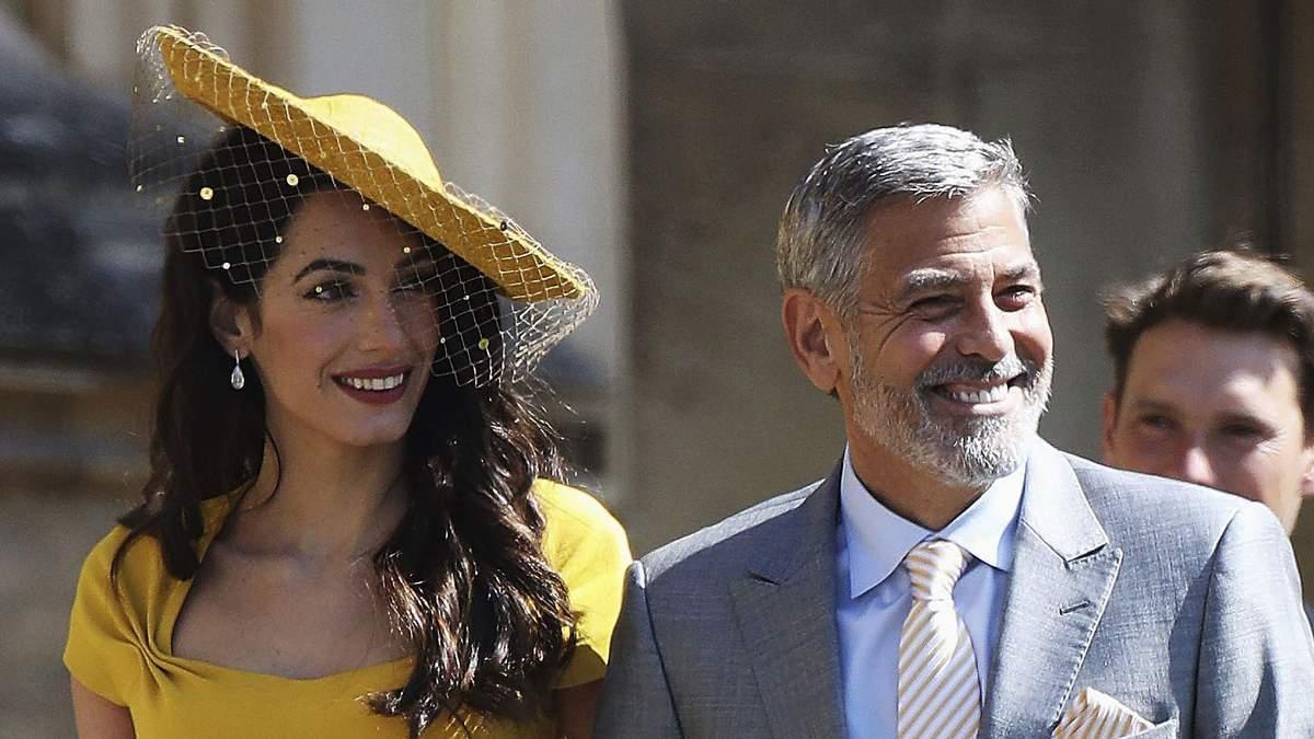 Знову близнюки: Джордж та Амаль Клуні вкотре стануть батьками
