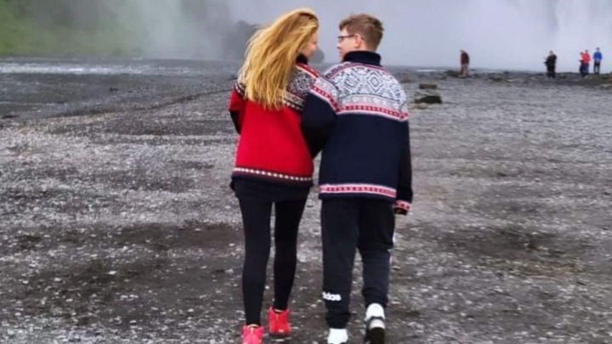 Тіна Кароль з сином в Ісландії: відео