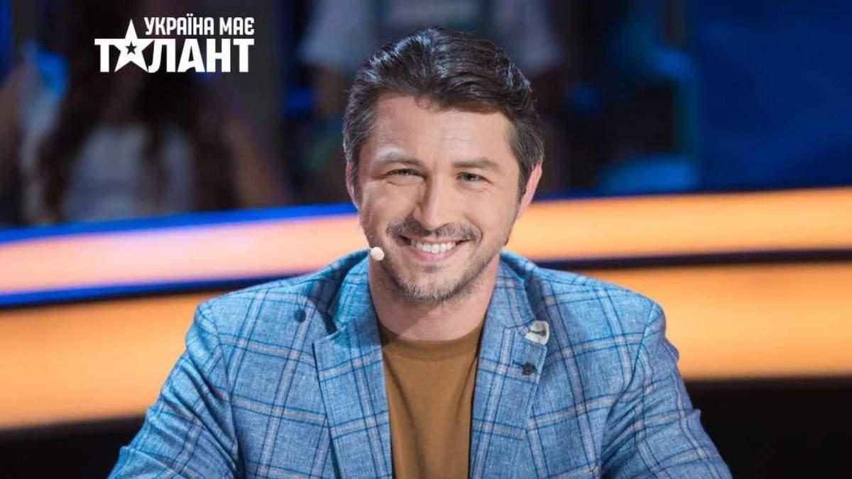 Сергей Притула рассказал о судействе в шоу Украина имеет талант