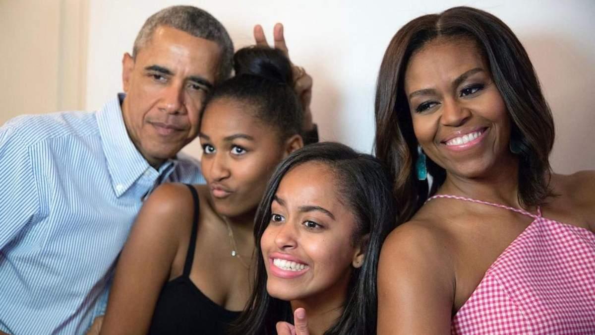 Мишель Обама романтично поздравила Барака с 60-летием
