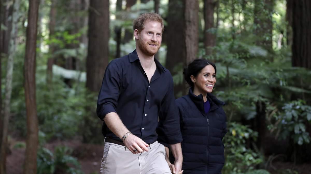Меган Маркл і принц Гаррі задумувались про переїзд у Нову Залендію