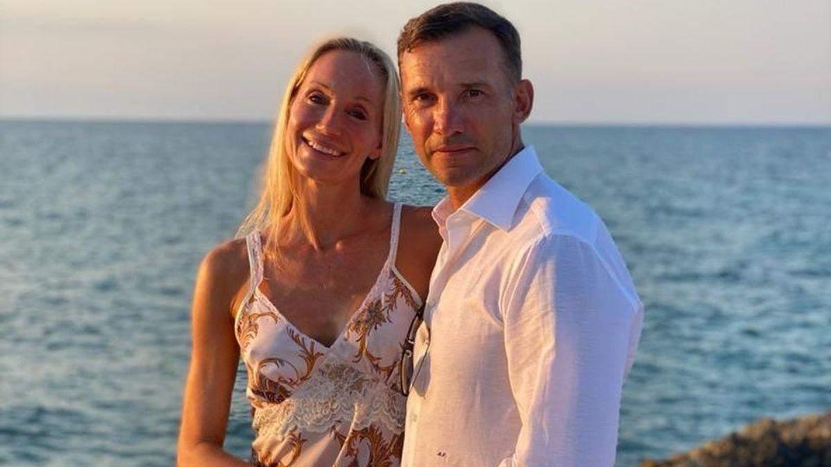 Андрій Шевченко привітав дружину з днем народження: фото