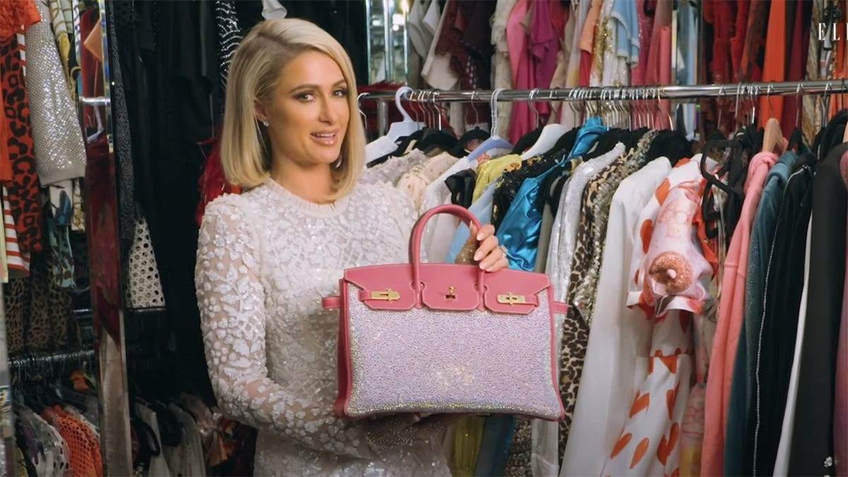 Періс Гілтон показала свою найдорожчу сумку за 65 тисяч доларів - Showbiz