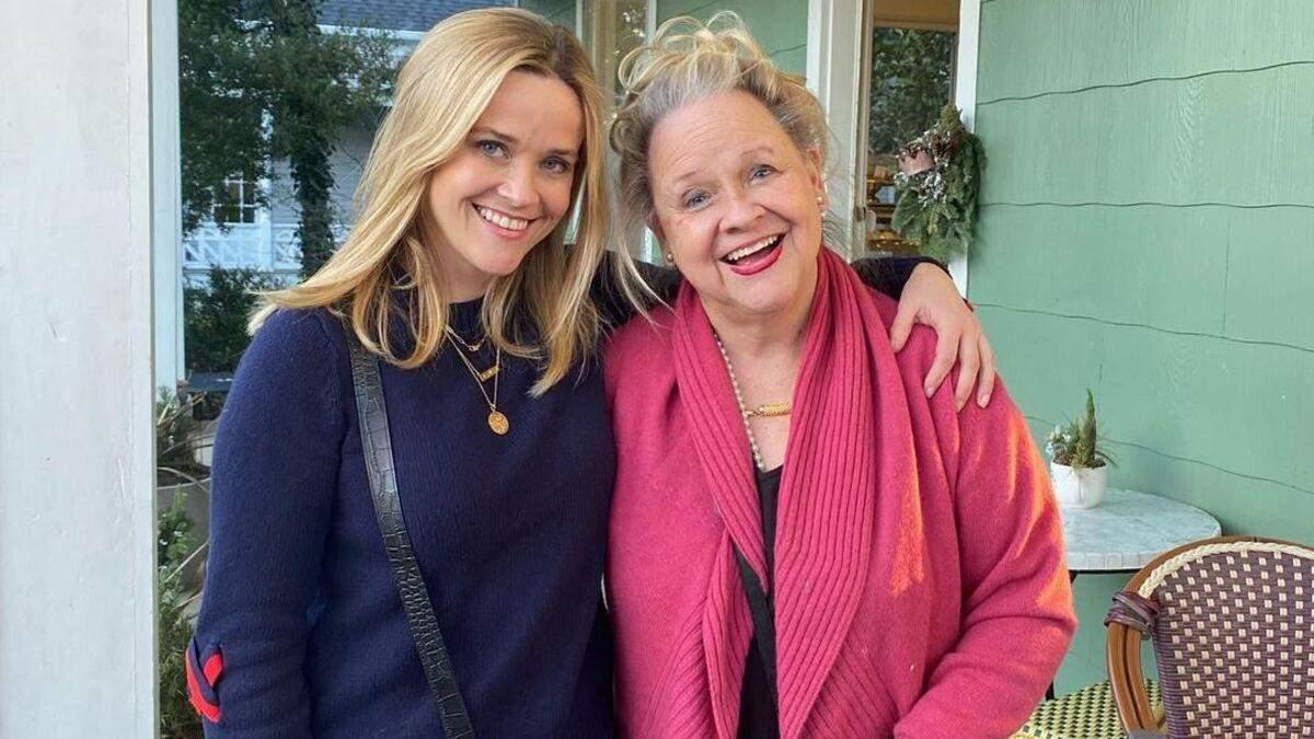 """""""Ви такі схожі"""": Різ Візерспун привітала маму з днем народження – чарівні фото - Новини шоу-бізнесу - Showbiz"""