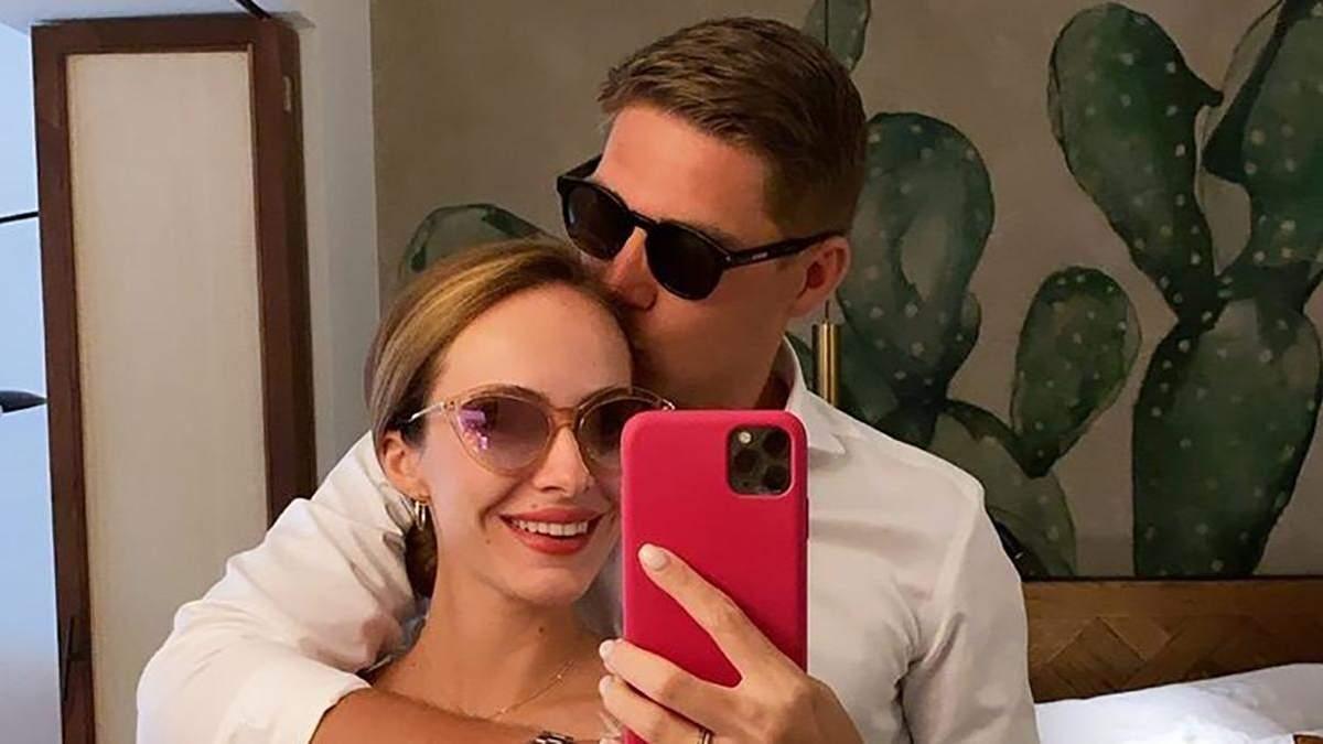 Владимир Остапчук показал, как отметил годовщину помолвки с женой: романтические видео
