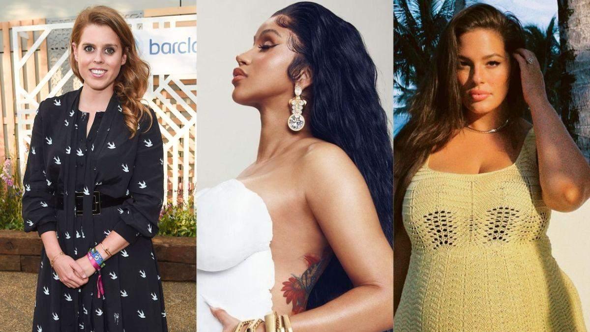 Принцесса Беатрис, Cardi B, Эшли Грэм: звезды, которые ожидают рождения детей