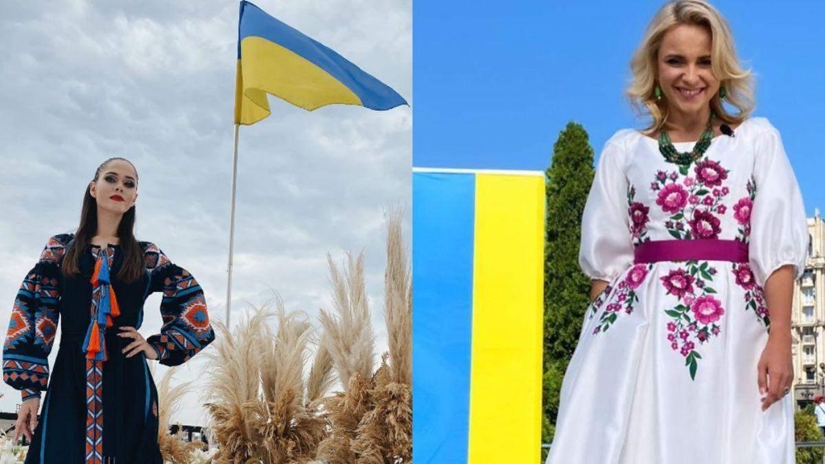 Украинские звезды поздравляют с Днем Государственного флага: красноречивые фото