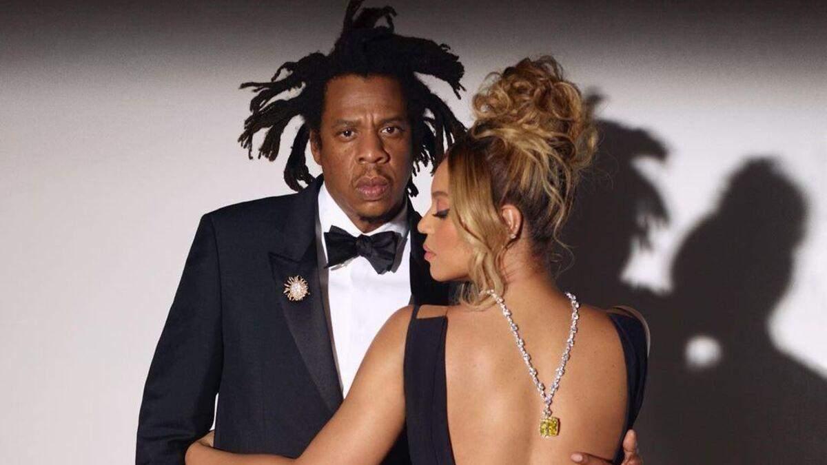 Бейонсе захватила новыми фото с мужем: роскошная съемка для ювелирного бренда