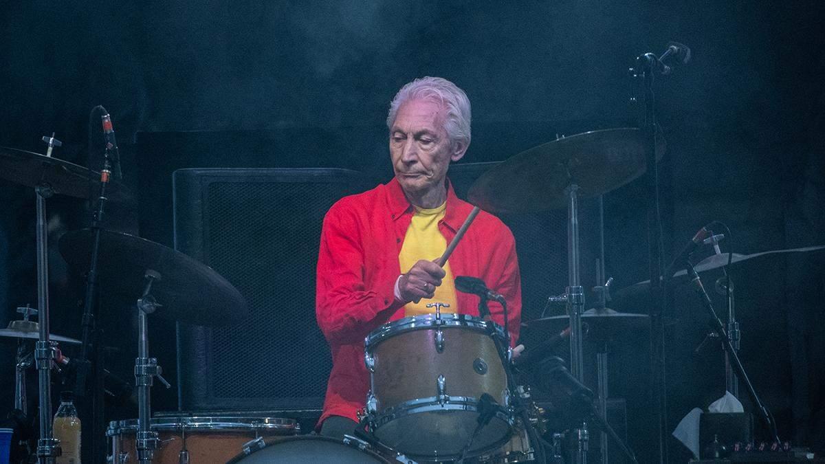 Умер Чарли Уоттс - барабанщик The Rolling Stones