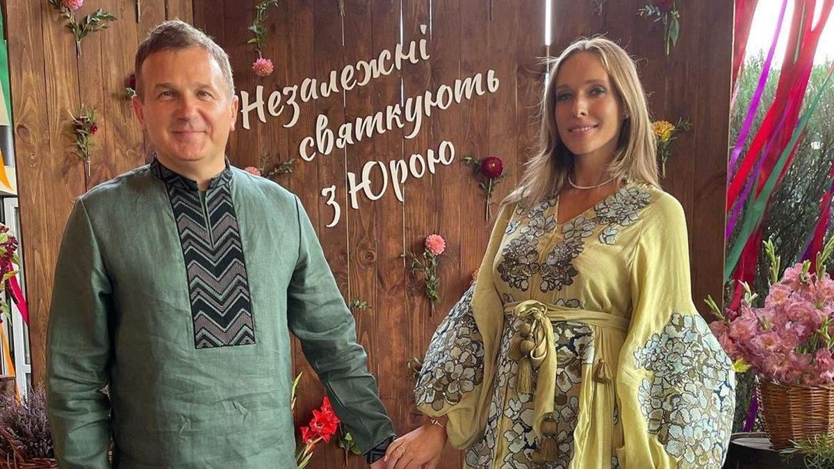 В вышиванках и с бандуристами: Юрий Горбунов громко отпраздновал день рождения