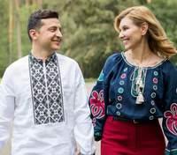 Все, что нужно для счастья: Елена Зеленская трогательно поздравила мужа с днем рождения