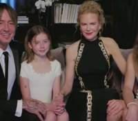 Вперше за довгий час Ніколь Кідман показала своїх дітей з Кітом Урбаном