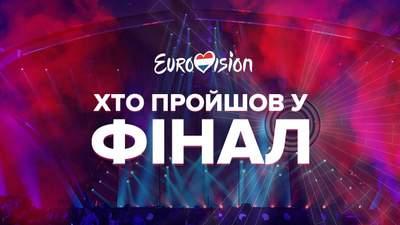 Хто пройшов у фінал конкурсу Євробачення-2021