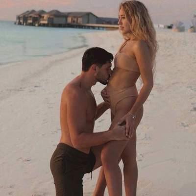 Даша Квіткова і Нікіта Добринін очікують народження первістка: зворушливе фото