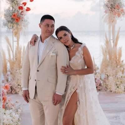 Телеведуча Іванна Онуфрійчук зіграла розкішне весілля на Мальдівах: фото