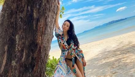 День народження на Мальдівах: 39-річна Катерина Кухар вразила тендітними формами – фото