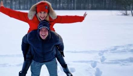 На снігу: Лілія Ребрик підкорила романтичним фото з чоловіком