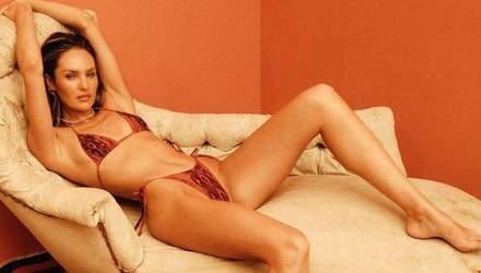 У відвертій білизні: Кендіс Сванепул розбурхала мережу сексуальним образом – фото