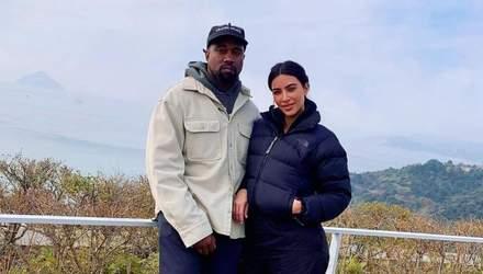 Чому Каньє Вест і Кім Кардашян подали на розлучення: ймовірна причина