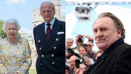 Підсумки тижня: зірковий бейбі-бум, хвороба принца Філіпа і секс-скандал з Депардьє