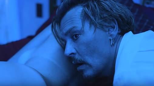 Джонни Депп снялся в очень провокационном клипе Мерлина Мэнсона: видео (18+)