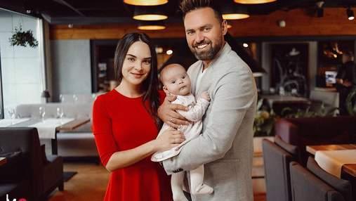 Тимур Мірошниченко замилував мережу своєю 4-місячною дочкою: зворушливе фото