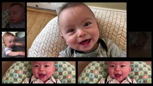 Папа смонтировал популярную песню группы AC/DC из звуков своего ребенка: невероятное видео