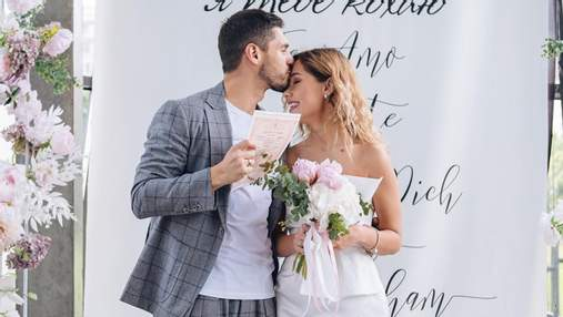Нікіта Добринін і Даша Квіткова одружилися: молодята розкрили подробиці розпису