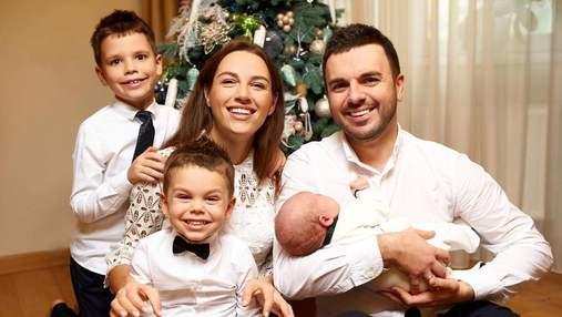 Дружина Григорія Решетника розповіла про новорічну метушню: ранки синів і приїзд рідних