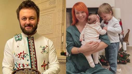 Как украинские звезды отмечают Сочельник: атмосферные семейные фото
