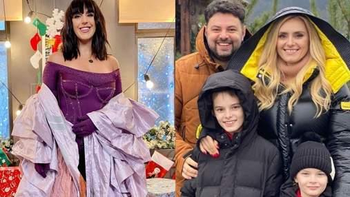 Як українські знаменитості вітають з Різдвом: яскрава фотодобірка