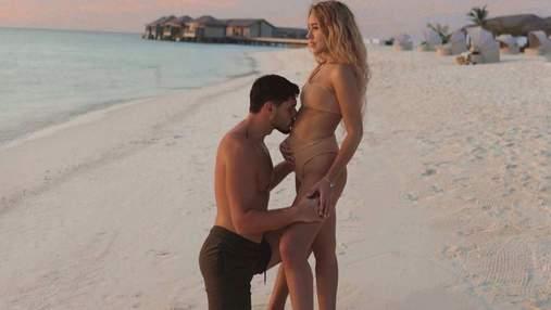Даша Квиткова и Никита Добрынин ожидают рождения первенца: трогательное фото