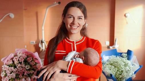 Дружина Григорія Решетника замилувала мережу фото з маленьким сином