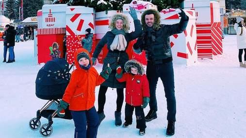 Григорій Решетник провів вихідні з сім'єю: яскраві фото з дружиною і синами