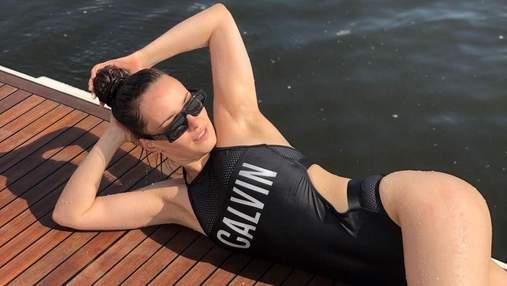 """У купальнику: """"Холостячка"""" Ксенія Мішина похизувалася фігурою в Домінікані – фото"""