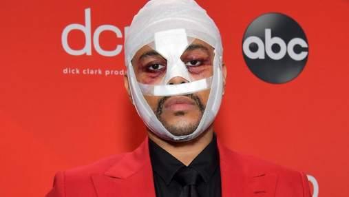 The Weeknd пояснив, чому приходив на премії з бинтами і пов'язками