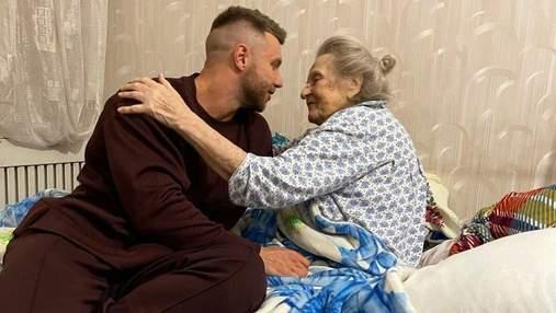 """""""Холостяк"""" Михаил Заливако трогательно поздравил бабушку с 99-летием: теплые фото"""