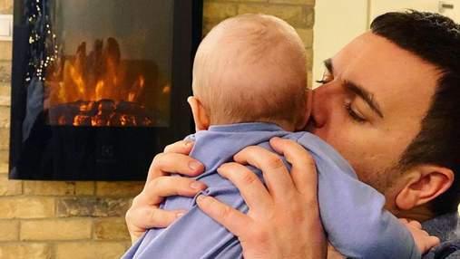 Григорий Решетник показал новое фото с младшим сыном