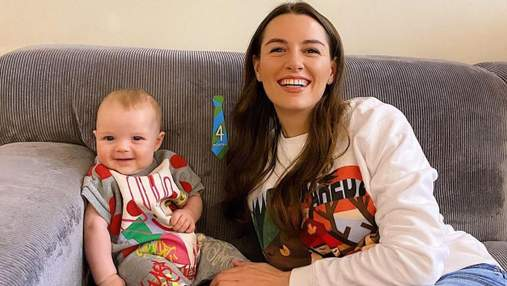 Дружина Григорія Решетника показала нові фото з наймолодшим сином