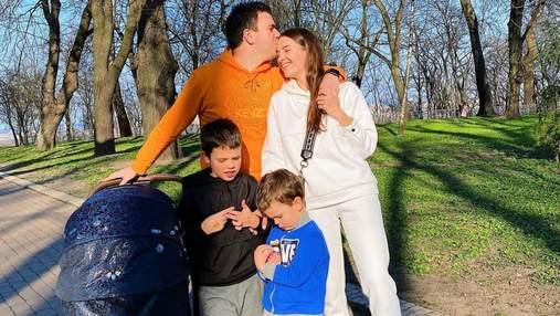 Дружина Григорія Решетника показала сімейний вихідний: яскраві фото