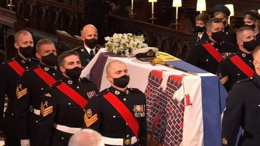 Похорон принца Філіпа: катафалк Land Rover та особисті речі герцога, що були на церемонії