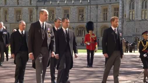Принц Гаррі близько двох годин розмовляв з батьком і братом, перебуваючи в Британії