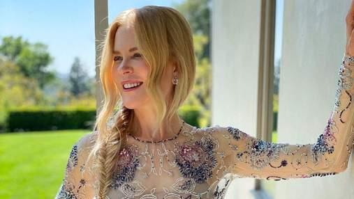 Ніколь Кідман дивилася Оскар-2021 з дому: фото