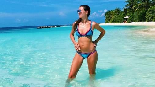 Христина Решетник похизувалася пишними грудьми на Мальдівах: фото нового спекотного образу