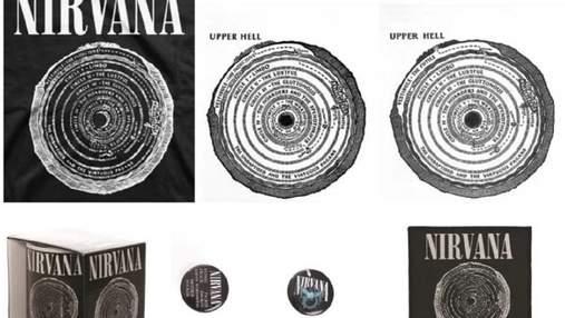 """Группу Nirvana обвинили в краже иллюстраций из перевода """"Inferno"""" Данте"""
