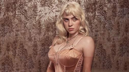 Пікантні фото Біллі Айліш для Vogue встановили новий рекорд в інстаграмі