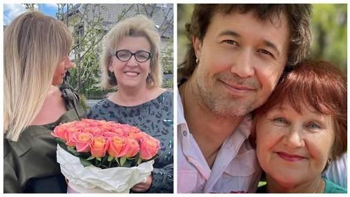 Могилевська, Бабкін, Нікітюк: українські зірки зворушили привітаннями до Дня матері