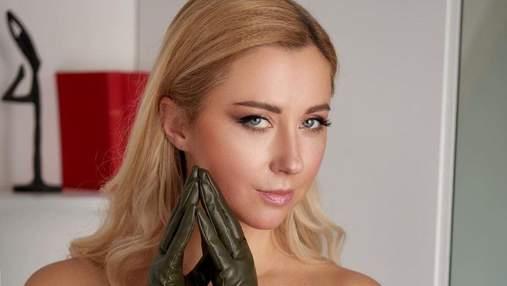 Тоня Матвиенко потрясла смелым образом в кожаном наряде